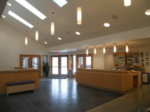 foyer of community centre