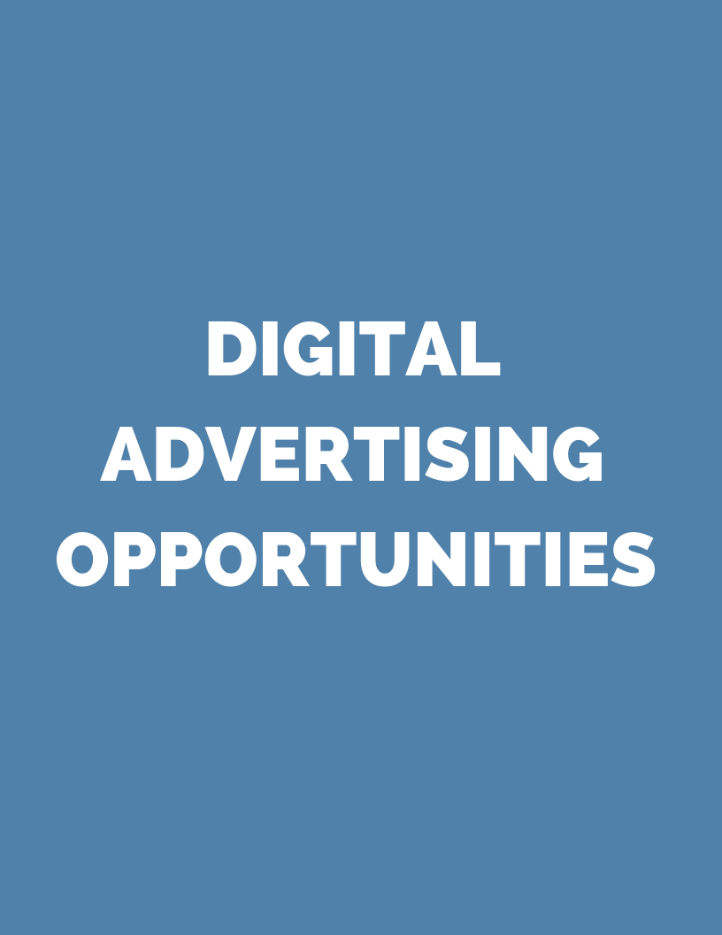 Digital Advertising Opportunities