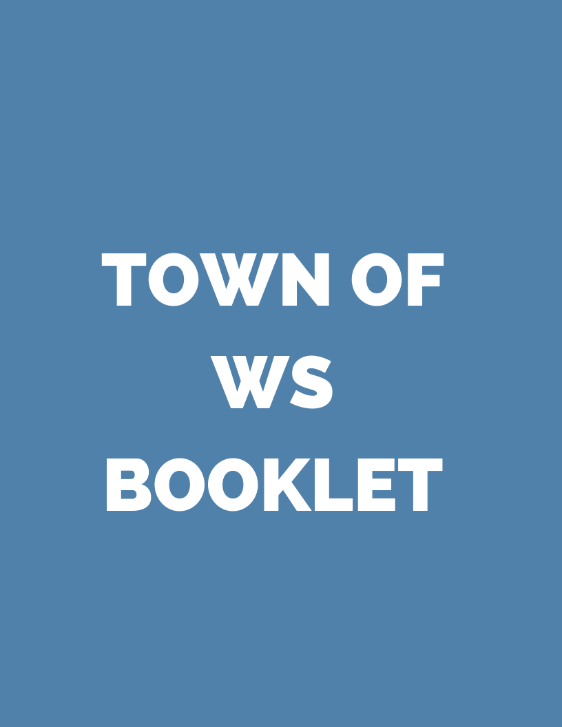 Town of WS Booklet