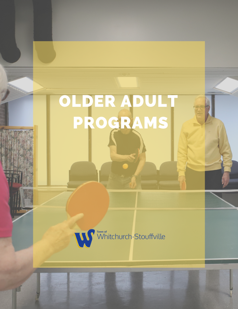 Older Adult programs