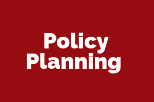 Policy Planning