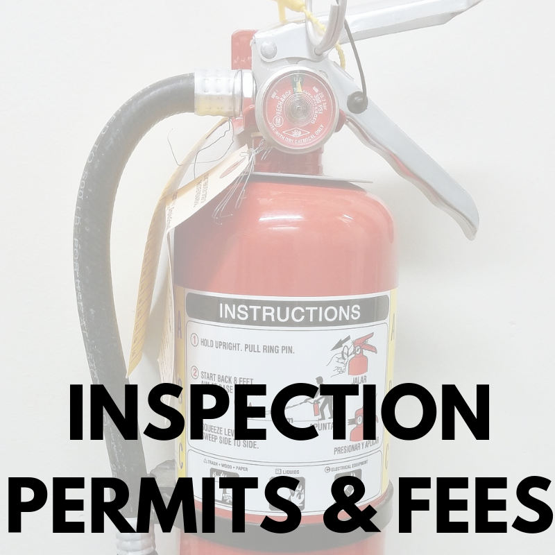 Inspection Permits & Fees