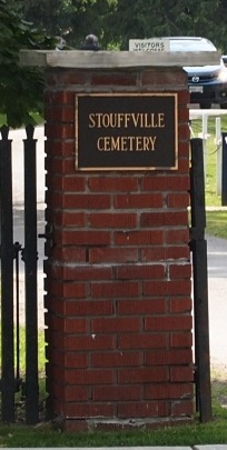Stouffville Cemetery Sign